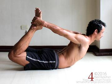 Prone Yoga Poses, bow pose, Neil Keleher, Sensational Yoga Poses