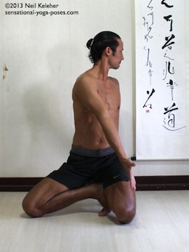 janu sirsasana c foot position preparation 1