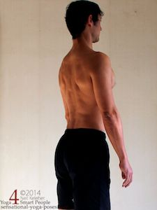 upper back exercises, bending lumbar and thoracic spine backwards using spinal erectors